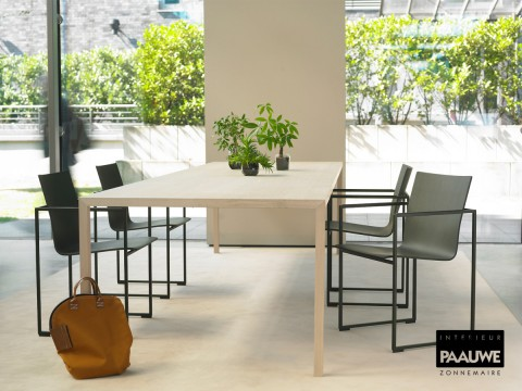 in onze showroom kunt u deze maand inspiratie opdoen voor uw eetkamer er staan diverse stijlkamers op u te wachten met tafels en stoelen voor verschillende