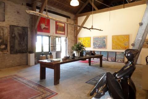 Interieur Inrichting Galerie : Cultuur galerie bellas artes interieur paauwe zonnemaire