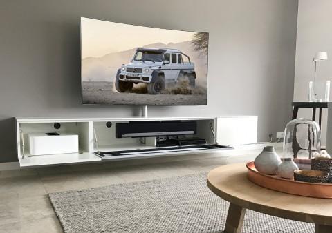 Mooi wonen met het mooiste beeld en geluid interieur paauwe zonnemaire - Meubilair tv thuis van de wereld ...