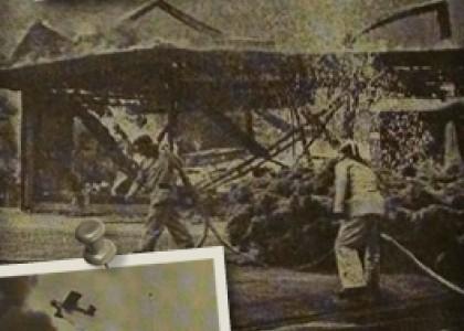 1984 - Brand verwoest Paauwe | Interieur Paauwe Zonnemaire
